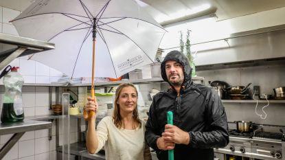 Streat dicht, wateroverlast in keuken