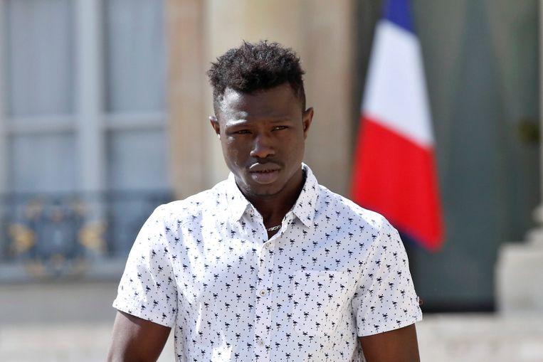 De 22-jarige Mamoudou Gassama. Beeld REUTERS