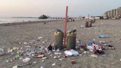 """Strand van Blankenberge krijgt eerste van meerdere 'afvalsorteereilanden': """"Toestanden zoals vorig jaar willen we vermijden"""""""
