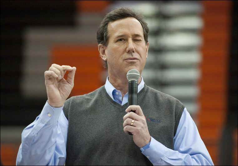 Rick Santorum. Beeld PHOTO_NEWS