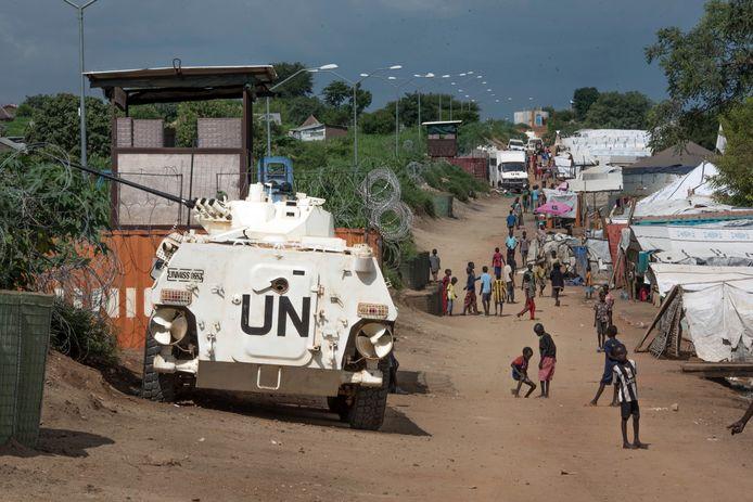 De VN in Zuid-Soedan, archiefbeeld ter illustratie.