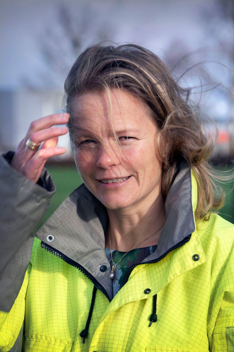 Hanne Buis, directeur Lelystad Airport Beeld Werry Crone