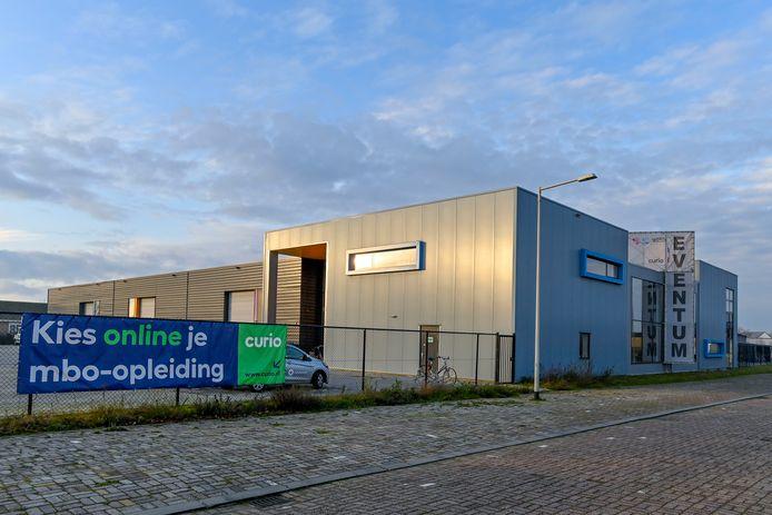 De locatie voor creatieve opleidingen bij Curio in Bergen op Zoom.