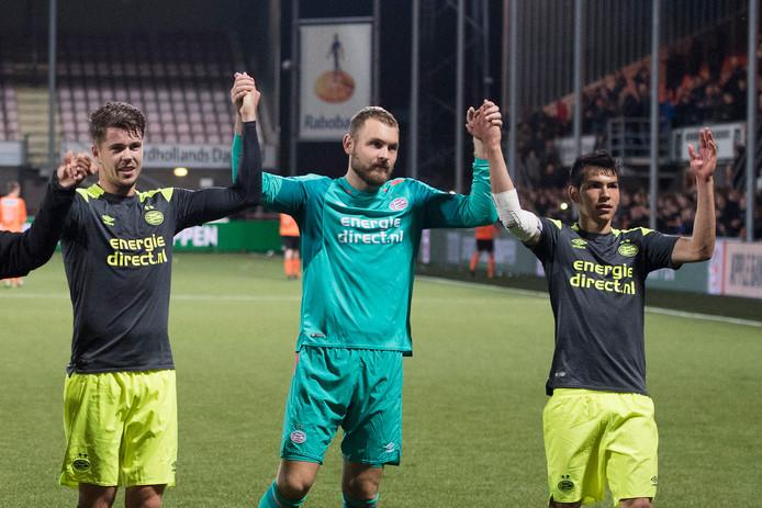 In het Philips Stadion al 16 keer op rij een vertrouwd beeld. Ook de laatste 4 uitwedstrijden, inclusief die bij FC Volendam (bekertoernooi) won PSV.