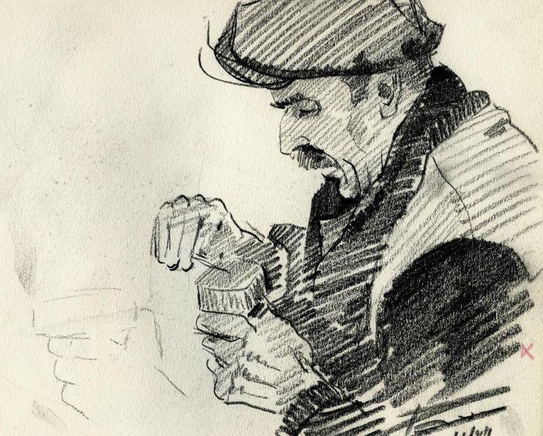 De portretten van Paul De Clercq werden nooit eerder publiek vertoond.