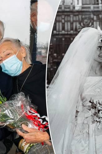 """Liefde is... je samen vaccineren op 60ste huwelijksverjaardag: """"En nu klaar om nog eens goed op de lappen te gaan"""""""