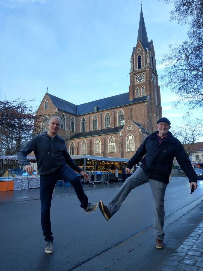 Links: Vincent Van Achter, rechts: Marnix Snauwaert