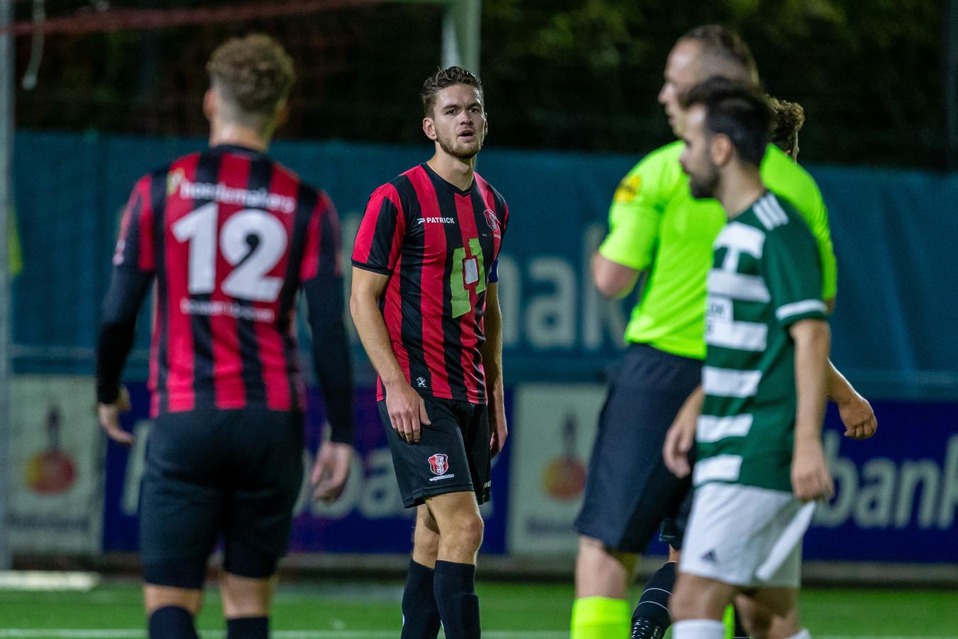 Joris Janssen in het shirt van zijn vorige club OJC Rosmalen.