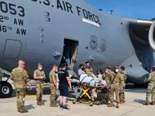 Baby die tijdens evacuatievlucht uit Afghanistan werd geboren, is vernoemd naar het toestel