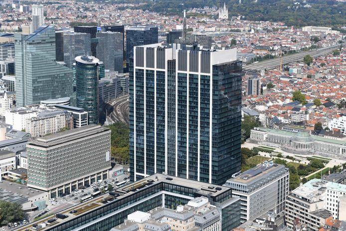 De Financietoren in Brussel.