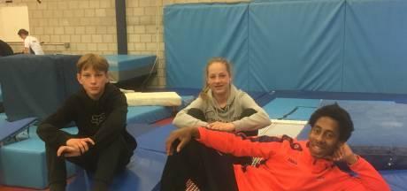 Trio van Turn'87 en broer en zus Schrier naar WK trampoline in Azerbeidjan