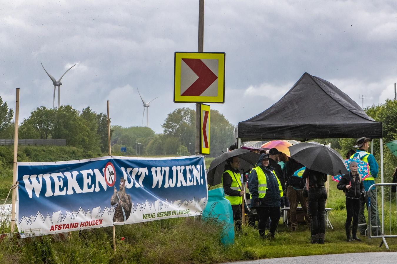 Protest tegen windmolens lijkt te lonen.