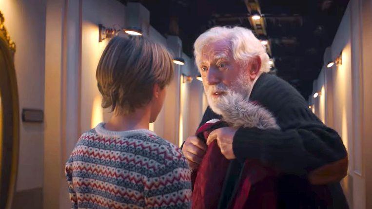 'De Familie Claus' met Jan Decleir: een sprookjesachtige familiefilm.  Beeld Netflix