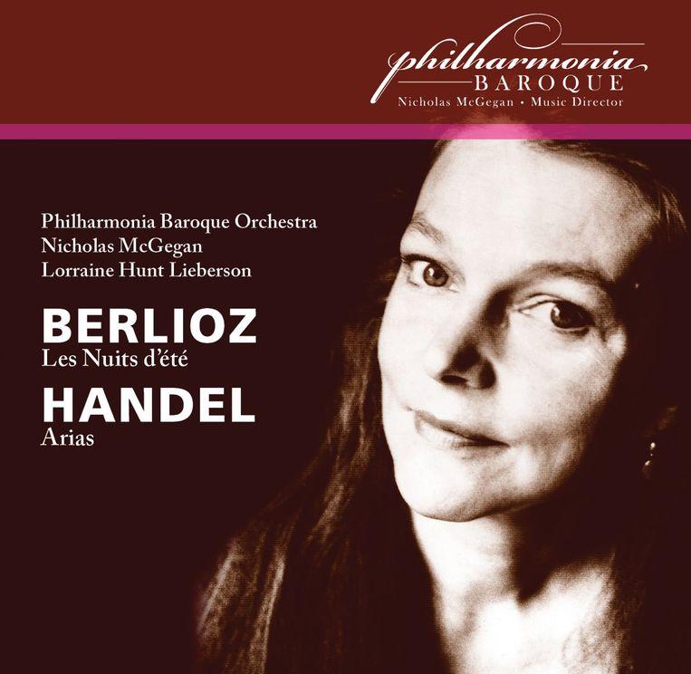 Les nuits d'été van Hector Berlioz door mezzosopraan Lorraine Hun Lieberson met het Philharmonia Baroque Orchestra onder leiding van Nicholas McGegan. Beeld