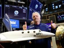 Richard Branson vanmiddag de ruimte in: 'Mijn vrouw komt niet naar mijn begrafenis'