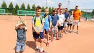 'Tennisrij' wil kinderen laten sporten na school