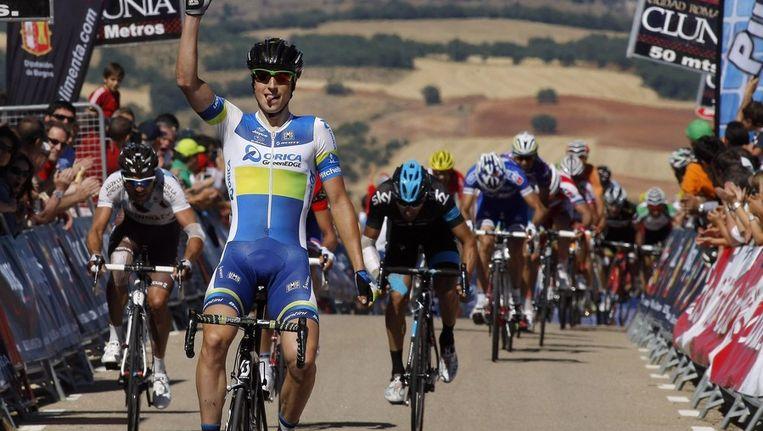 Keukeleire won gisteren ook al de tweede rit Beeld PHOTO_NEWS