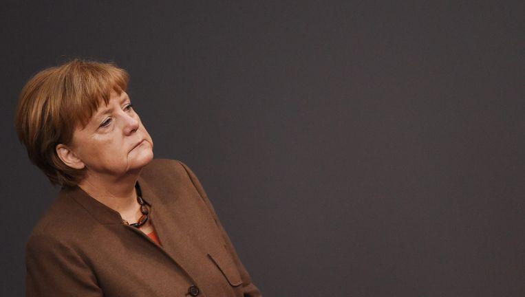 Bondskanselier Angela Merkel Beeld ANP