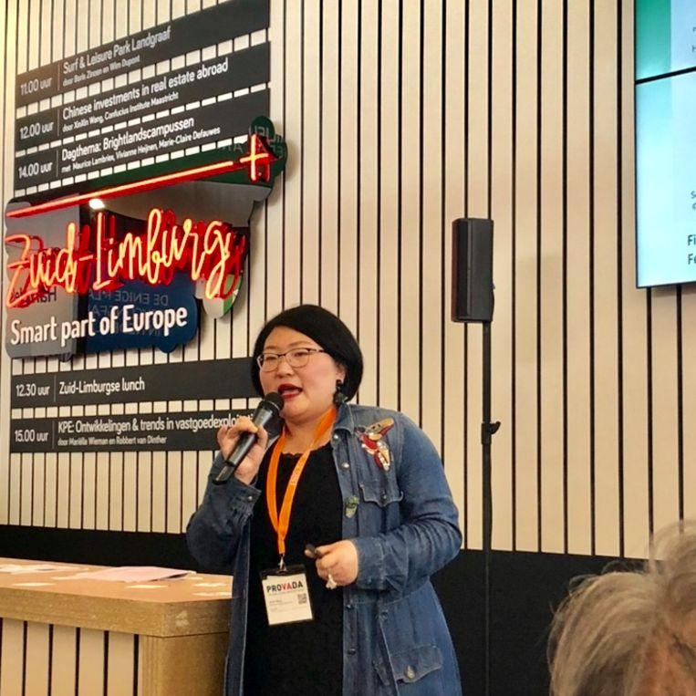 Presentatie 'Chinese investeerders'. Beeld