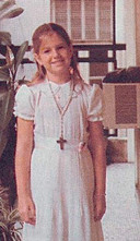 Máxima's Eerste Heilige Communie, 1978.