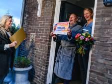 Straat in Bergschenhoek wint 1 miljoen euro in de Postcode Loterij