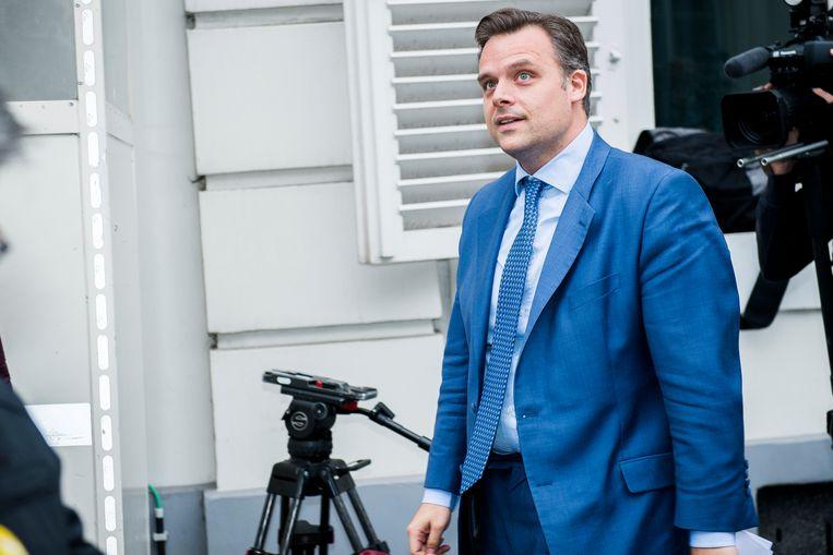 Staatssecretaris voor Sociale Fraudebestrijding Philippe De Backer (Open Vld). Beeld BELGA