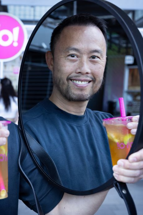 Oprichter YoYo! Fresh Tea Bar heeft nog geen Rolex om zijn pols: 'Ik ben niet van het ellebogenwerk'