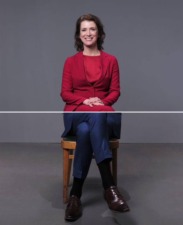 Mariëlle Tweebeeke: 'Ik vind het wel confronterend om te zien hoe wij het allemaal in Nederland organiseren.' Beeld Monique Bröring en Erik Smits