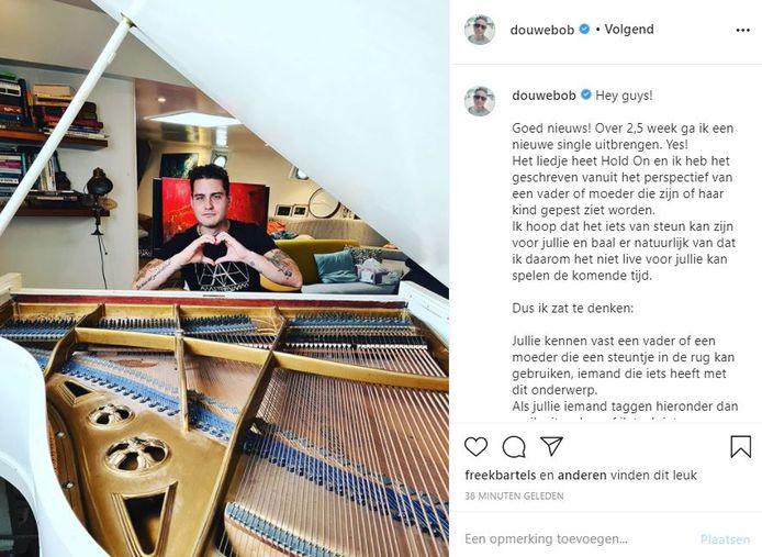 Instagram/Douwe Bob