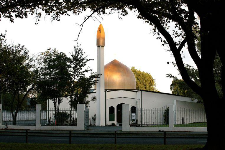 Een van de getroffen moskeeën (archiefbeeld). Beeld REUTERS