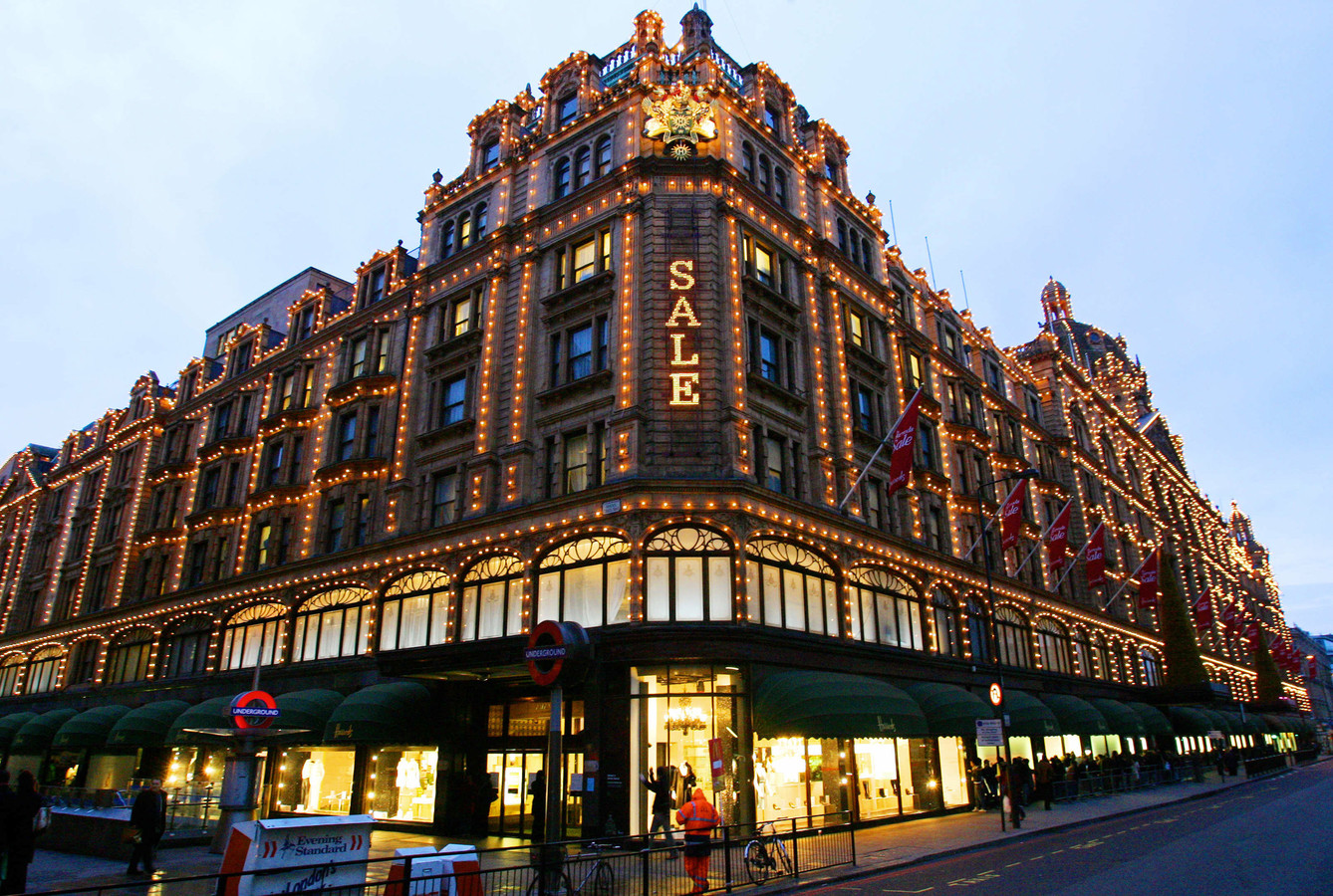 Le magasin Harrods.