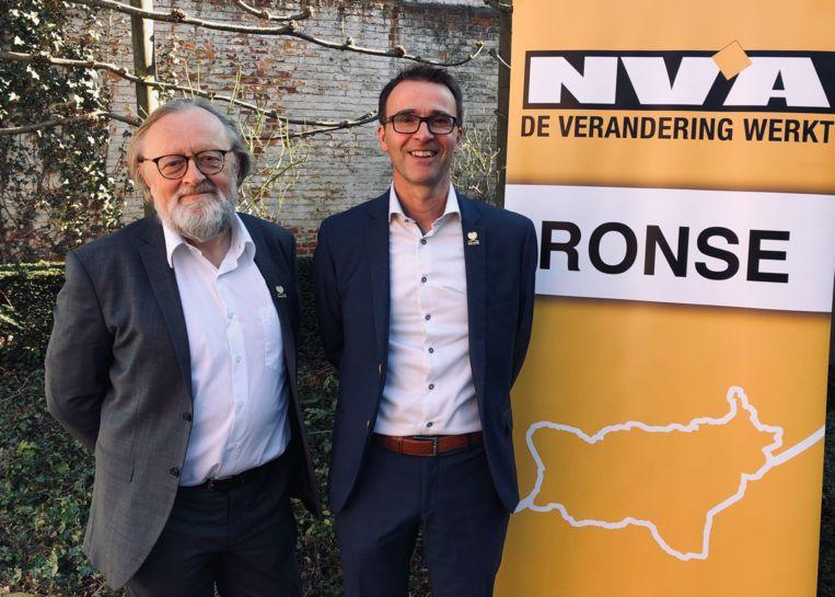 Paul Carteus en Jo Cornelus zijn de nieuwe ondervoorzitter en voorzitter van N-VA Ronse.