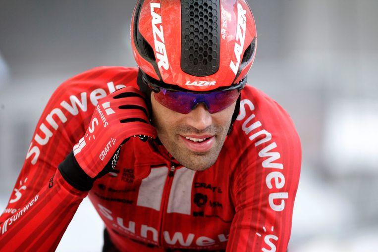 Tom Dumoulin kon dit voorjaar niet overtuigen in Luik-Bastenaken-Luik. Beeld Photo News
