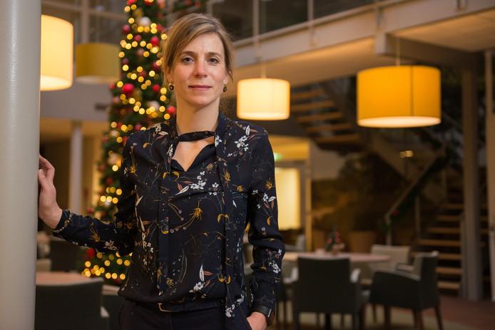 Esther van der Kooij is sinds eind 2017 de directeur van de Imminkhoeve in Lemele.