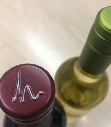 Logo Maashorst lijkt verdacht veel op dat van een wijnfles: 'Er zijn zo veel logo's en merken, dit is niet te voorkomen'