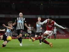 Arsenal verslaat Newcastle United dankzij Aubameyang opnieuw