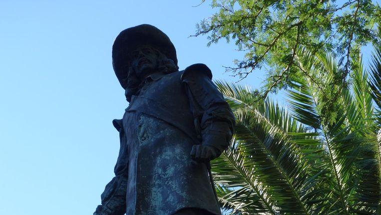 Beeld Jan van Riebeeck in Kaapstad. Beeld wb