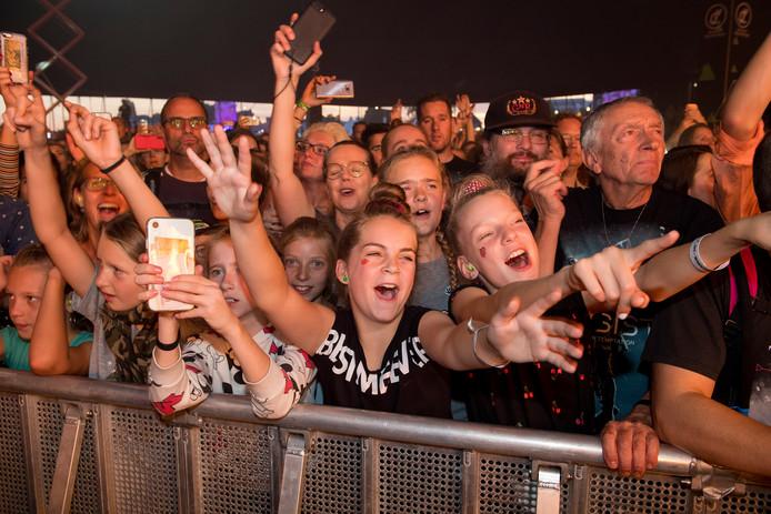 Fans van Nielson bij Appelpop.