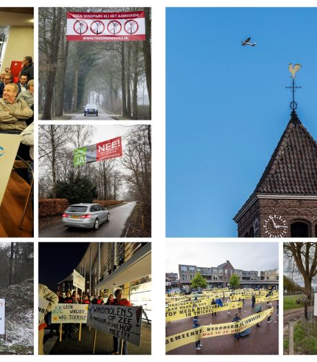Geen windmolens in Twente, wel vrees voor gezondheidseffecten