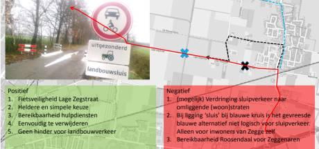 Deze plannen moeten voor minder verkeersdruk in Zegge zorgen