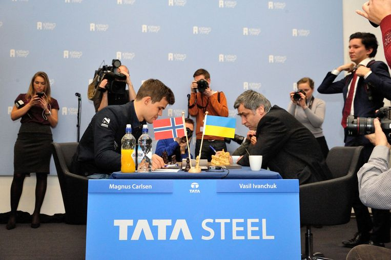 Tata Steel tournooi Beeld Andre de Heus