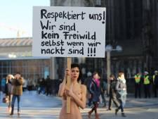 Naakt protest tegen aanrandingen: We zijn geen loslopend wild