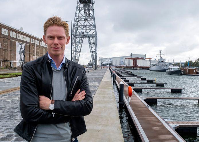 Projectleider Jochem Nonhebel van Damen Naval.