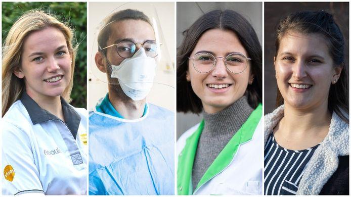 Deze studenten helpen onze zorgverleners tijdens de tweede golf van de coronapandemie.