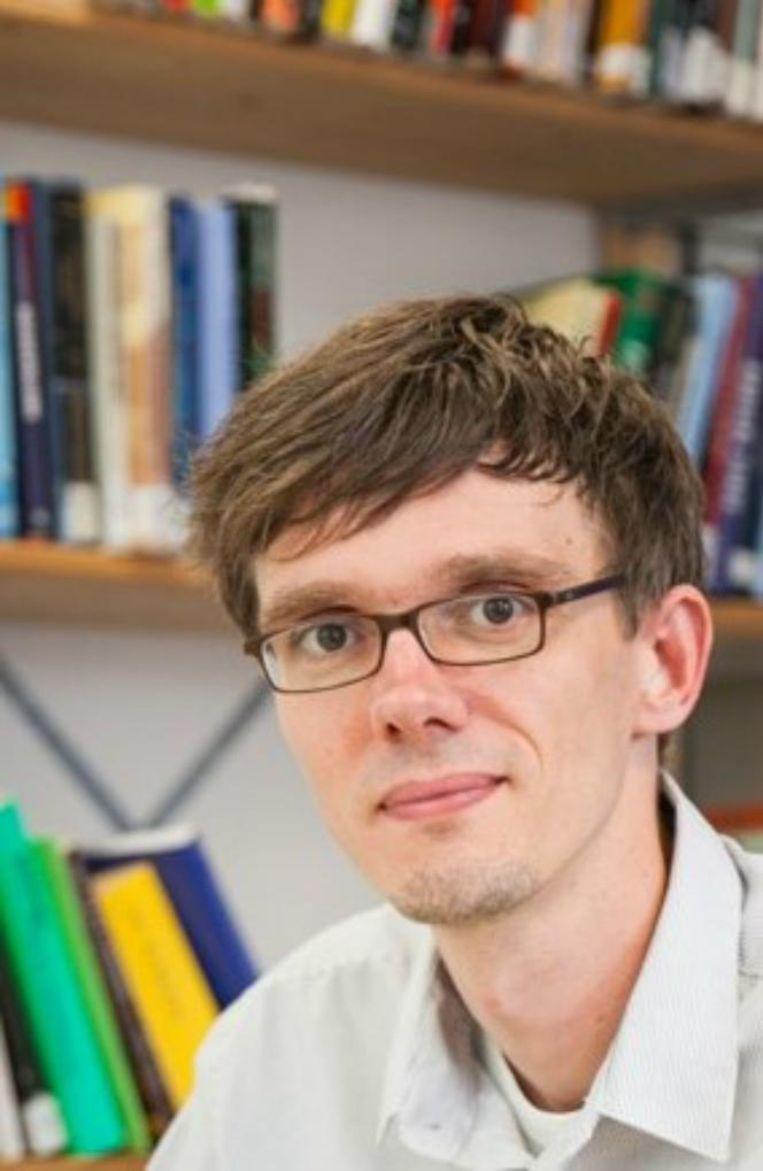 Pieter Nanninga, jihadisme-onderzoeker. Beeld