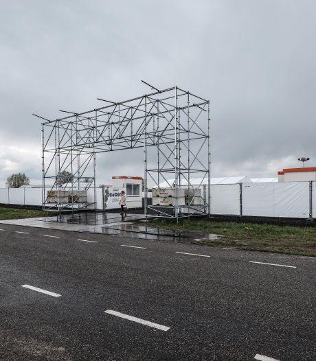 Nieuwe megatestlocatie van GGD op bedrijvenpark A18 in Wehl krijgt vorm