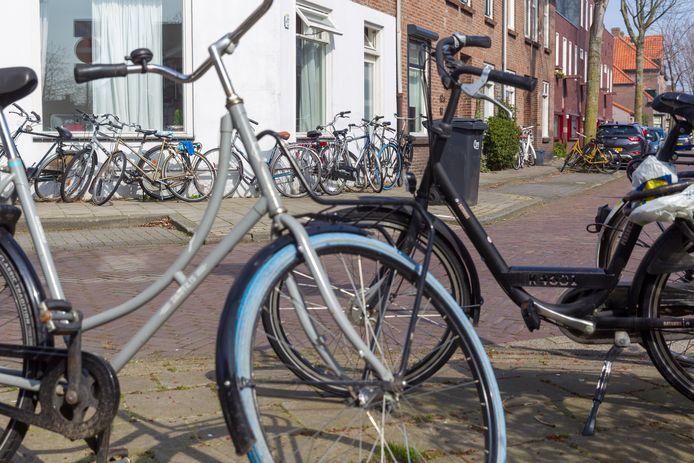 Studentenprotest tegen strenge regels voor kamerverhuur in Eindhoven.