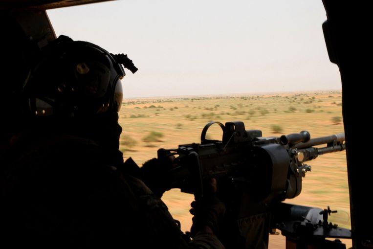 Een Franse militair in Mali. Beeld afp