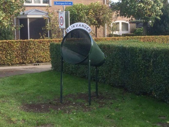 De blikvanger in Mijnsheerenland.