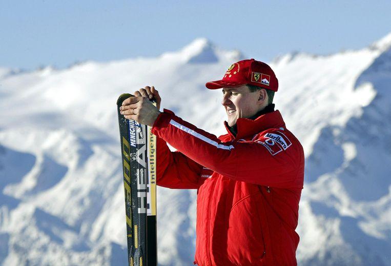 Michael Schumacher in 2003. Beeld AFP